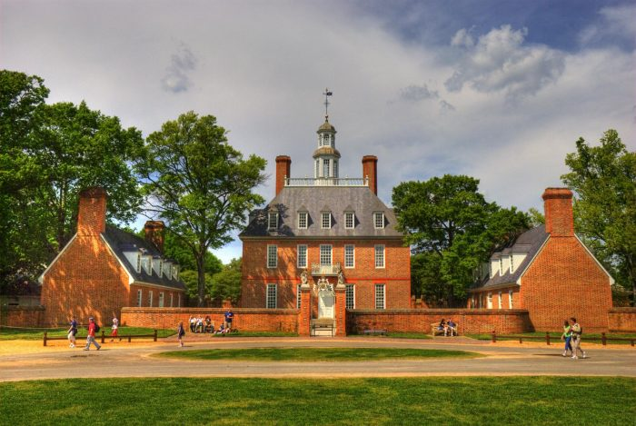The Governor S Palace Williamsburg Virginia Early