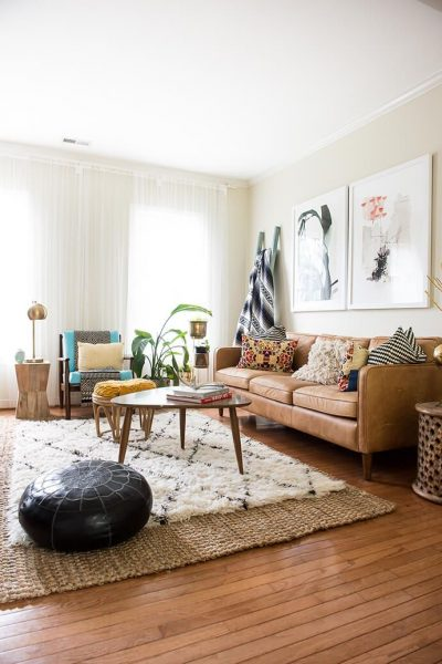 Layered rugs trend hot (anikolevai.com)