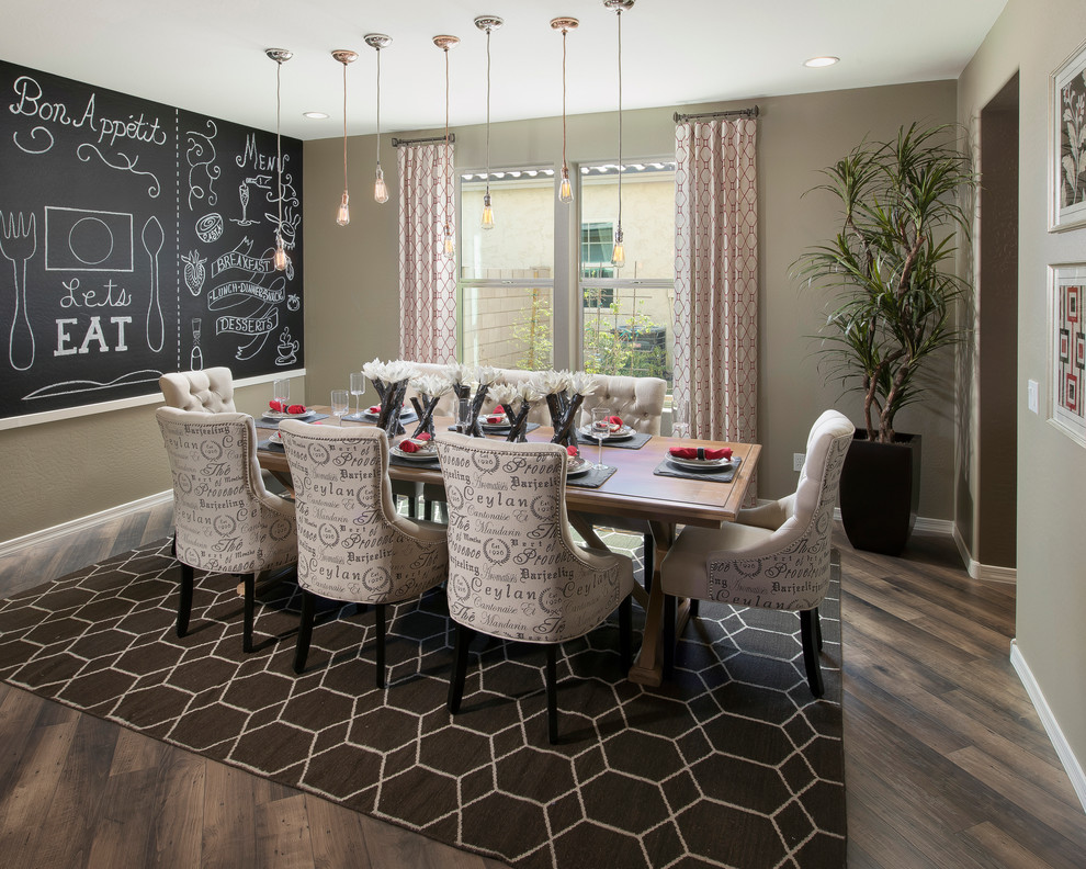 Transitional Dining Room Ideas Part - 49: Dining Room (byrneseyeview.com). Decorators Use Transitional ...