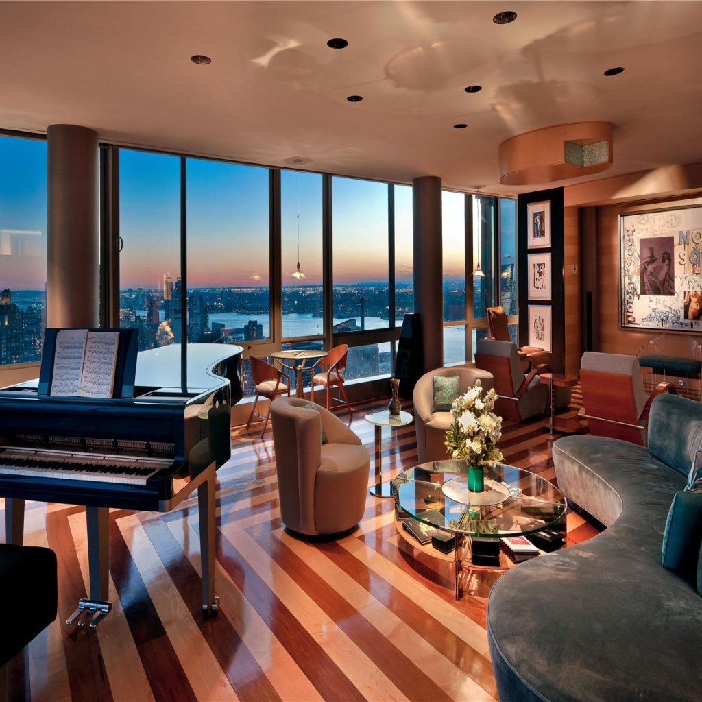 Nyc Rents: New York City Penthouse Apartments With Incredible Style