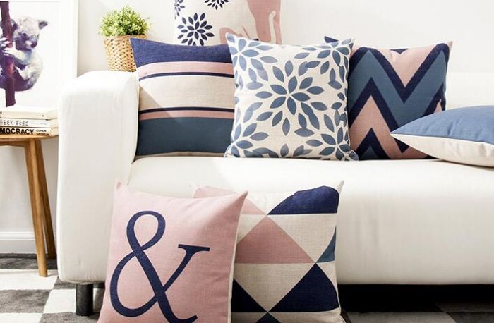 Geometric pillows