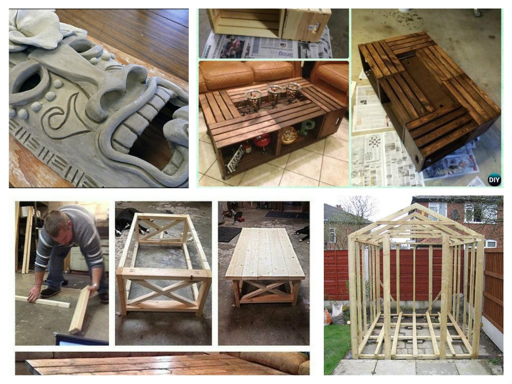 3 Creative Woodworking Projects You Can Do Yourself