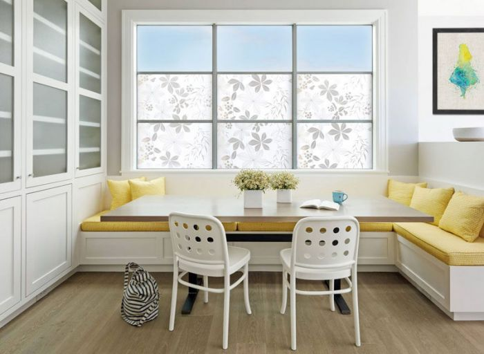 Use Built-In Banquette Seating To Save Space
