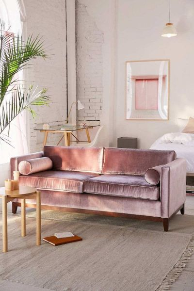 Light and soothing pastel room. (deavita.fr)