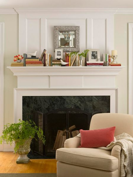 Accessorize the mantle (homedit.com)