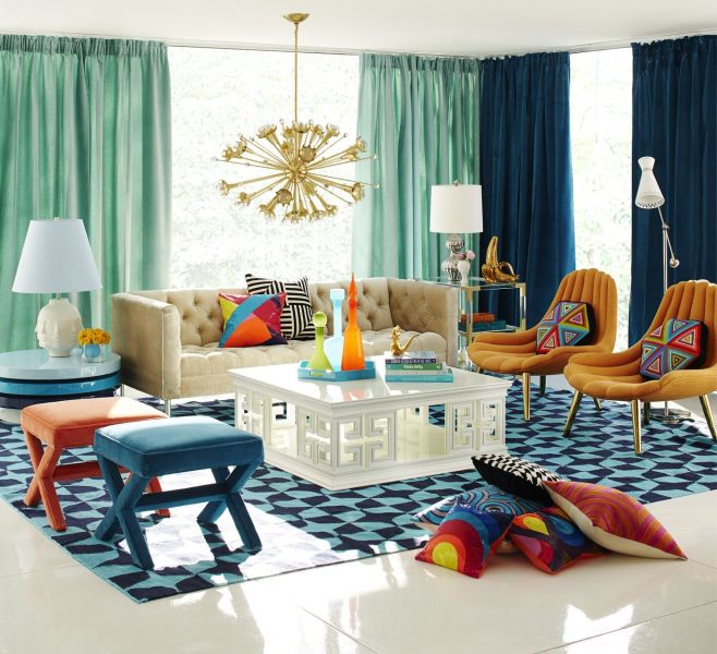 Jonathan Adler interior is fun and fresh (homedit.com)