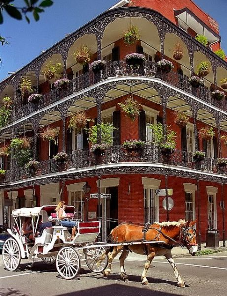 New Orleans style architecture has charm to spare (Pinterest)