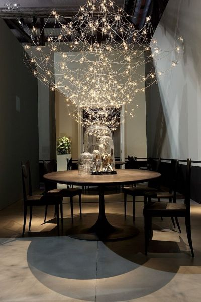 Shimmering lighting adds drama (Interior Design)
