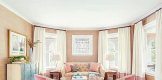 Living sophisticated with pastels. (shoproomsideas.com)