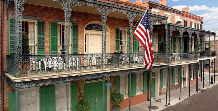 The Soniat House Hotel in the heart of the French Quarter, New Orleans, Louisiana (soniathouse.com)