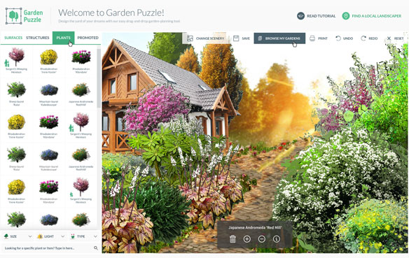 gardenpuzzle.com: Visualize your garden concept in less than five minutes