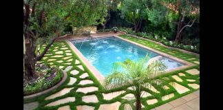 Small garden swimming pools
