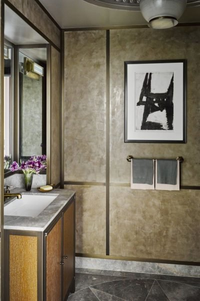 The Glam Modern Bathroom