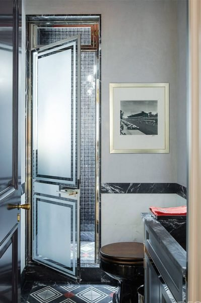The Metallic Master - Small Bathroom ideas