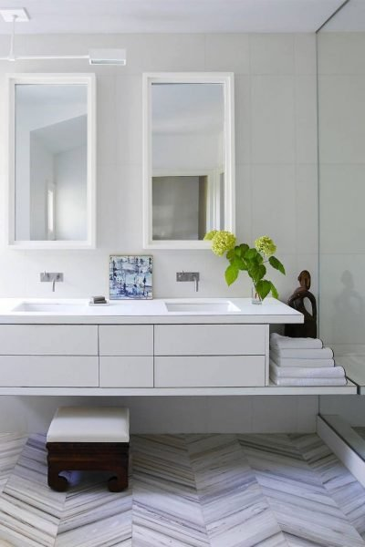 The Minimalist - Small Bathroom ideas