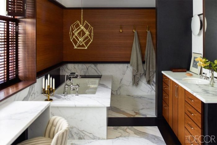 Paneled Small Bathroom ideas