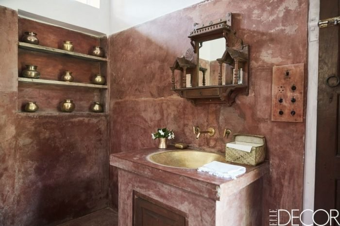 The Indian Rustic Bathroom