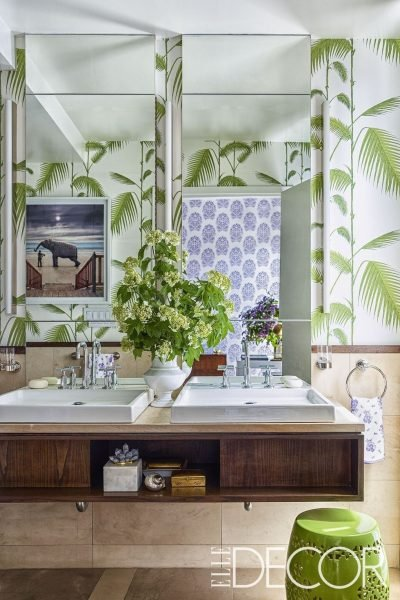 Jungle Inspired Bathroom