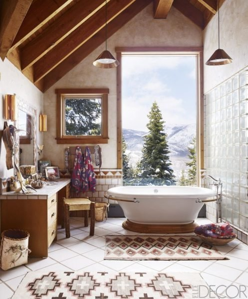 The Rustic Bathroom