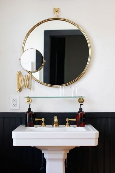 The Round Mirror Bathroom