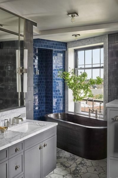 The Tiled Bathroom