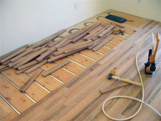 Installing Wood Flooring Over Underfloor Heating
