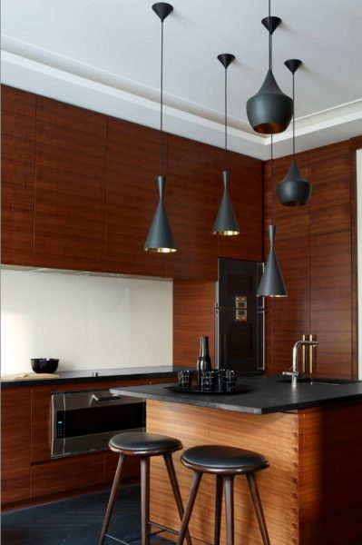 Wooden kitchens and the crispy sound they make when you walk on them is just amazing!