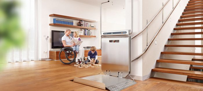 Install a platform lift or stairlift