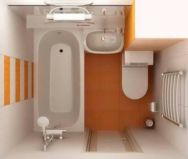 3D Layouts of the Bathroom (11)