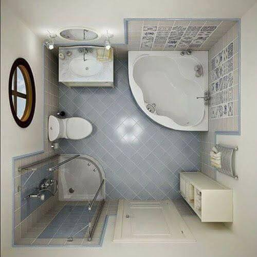 3D Layouts of the Bathroom (15)