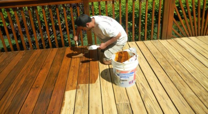 Offer Superior Deck Finish