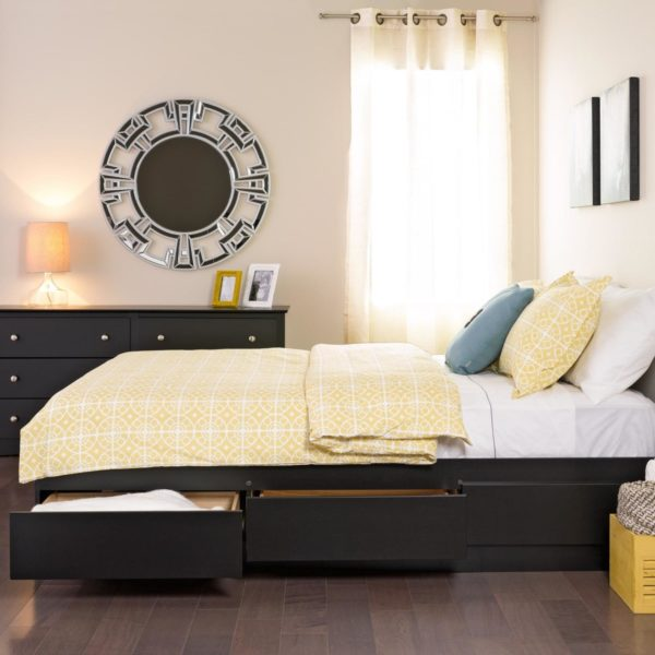 Storage beds for small spaces