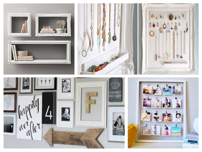 10 inspiring ways to decorate with photo frames