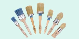 Complete range of Annie Sloan brushes to paint and wax your transform furniture.