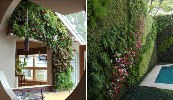 Green Wall Architecture ideas
